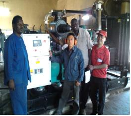 provide generating set aid project for Senegal